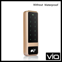 C50 ID+Without Waterproof Direct Factory Sales DC12V 10M Reading Distance Wieless Metal Touch Keypad Access Control Keypad
