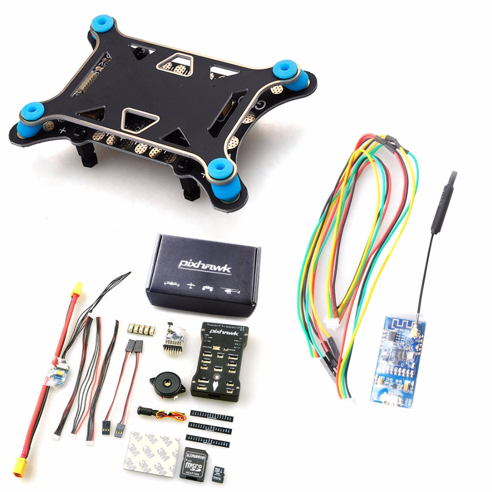 DIY FPV Drone Accessory With PIX PIX4 Flight Control M8N GPS WIFI Telemetry Motor 40A ESC TX&RX for RC Multicopter Quadcopter