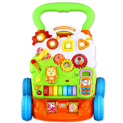 Baby toys to help children step car multifunctional walkers baby baby walkers step carts to help car multifunctional chest children 7 to 18 months