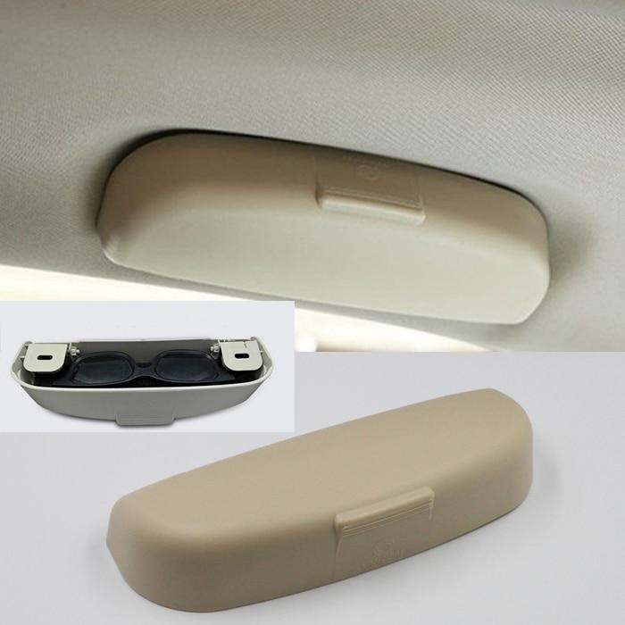 Caso de gafas organizador caja titular de gafas de sol bolsillos de almacenamiento para Renault Koleos Kadjar plumero para Samsung QM6 QM3 ¿