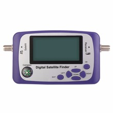 Digital Displaying Satellite Finder Meter Satfinder TV Signal Receiver Sat Decoder Satlink Receptor Buzzer LCD FTA