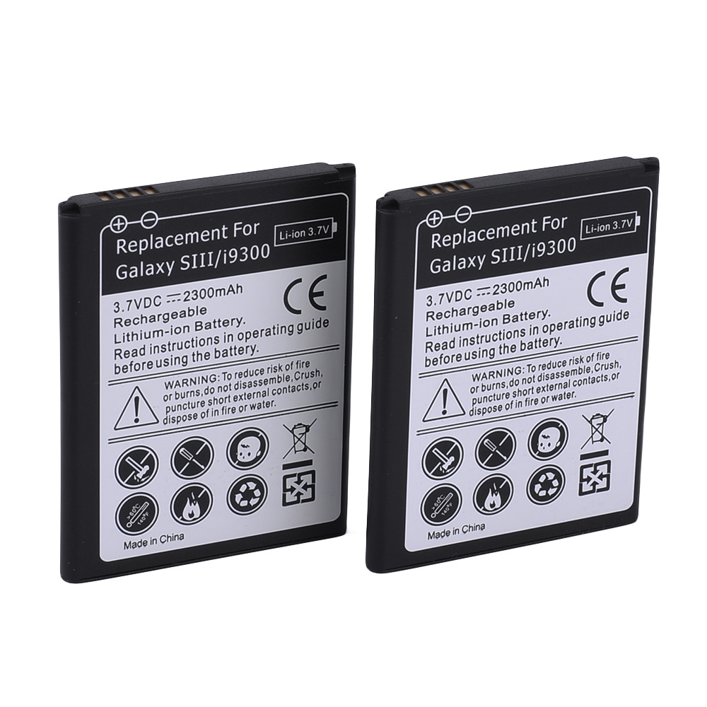 AAA 2300 mAh For Samsung s3 Battery for Samsung Galaxy S3 i9300i i9308 i9305 i9082 i9080 i9128E/i9060 i9301 i9118 i91