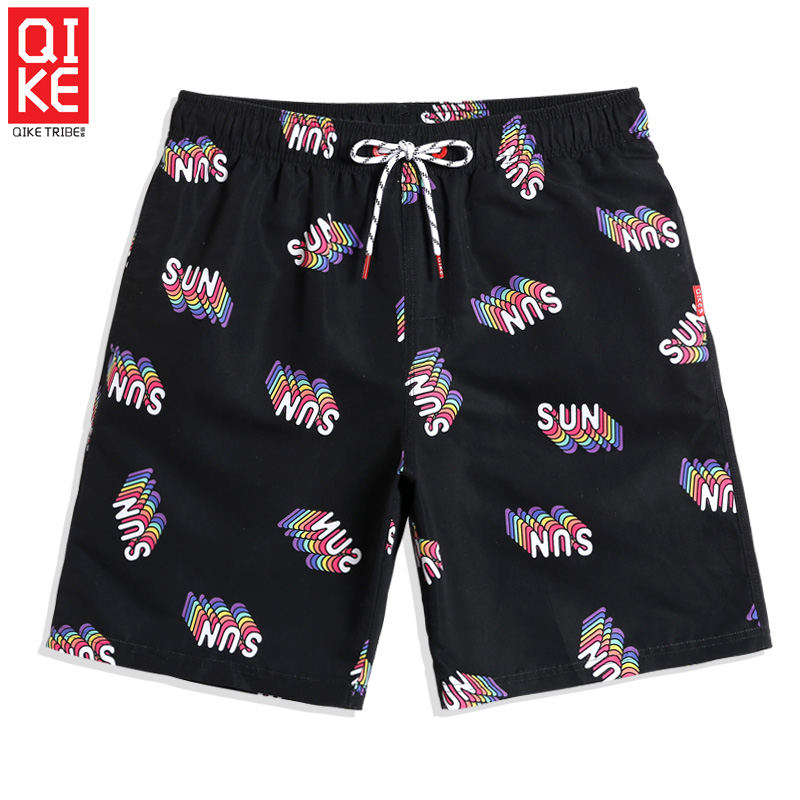 Men's 2019 new swimming trunks hawaiian bermudas quick dry surfing swimsuit joggers   board     shorts   plavky briefs mesh