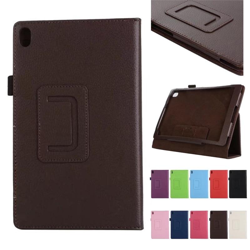 Case For Lenovo Tab 4 8 plus TB-8704x Litchi Leather Case for Lenovo TAB4 8 plus TB-8704F TB-8704N 8.0