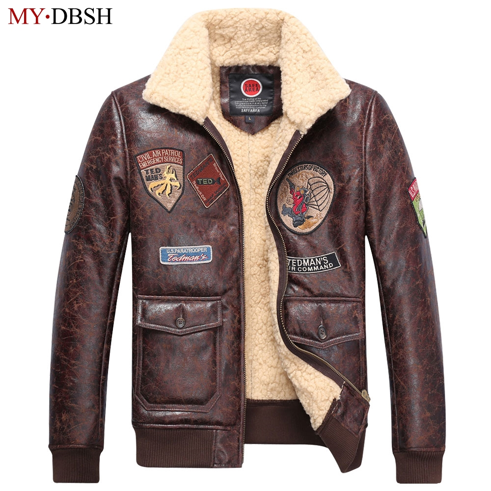 2017 New Arrival High Quality Mens Leather Jackets Winter ...