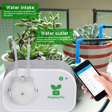 Mobile Phone WIFI Control Intelligent Garden Automatic Watering Device Flowers Plant Drip Irrigation Tool Water Pump Timer 35