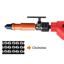 Электрический заклепочная гайка пистолет дрель инструмент cordlessadapter сопла клепки пневматический слепой заклепки адаптер клепки инструмент
