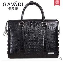 kafandi crocodile short men wallet Men crocodile leather authentic wallet business fashion more screens men purse
