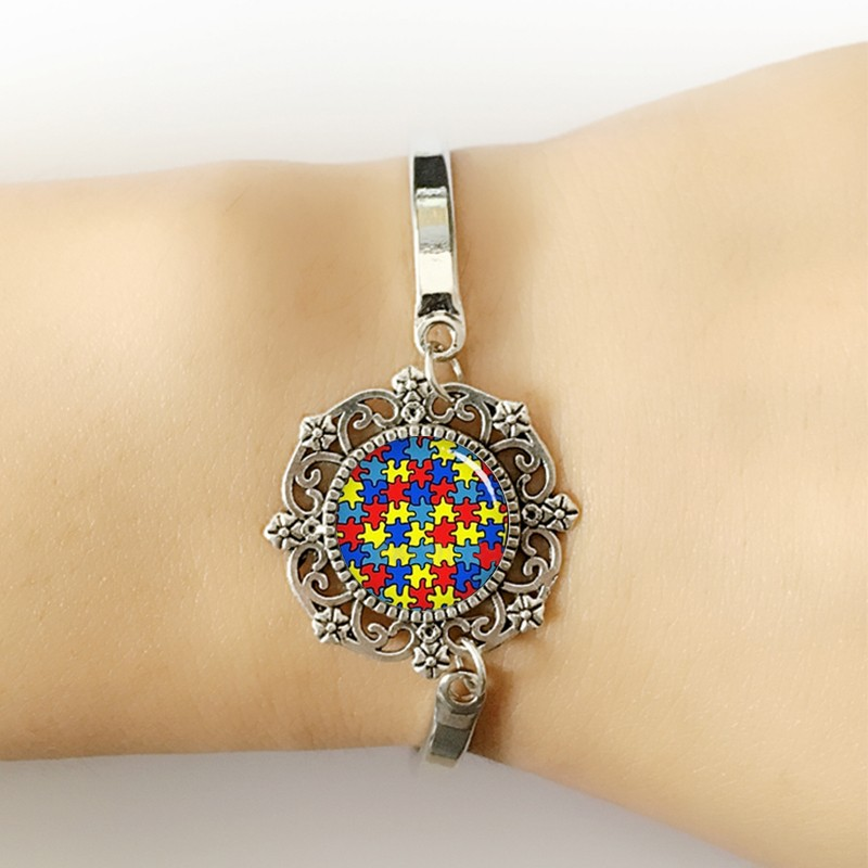 HB3 per Kim braccialetti braccialetto del Cuore delle donne gioielli Prendersi Cura di autismo