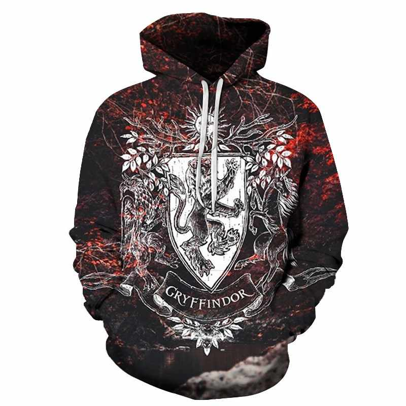 2019 new spring autumn 3D Hoodies Sweatshirts Men Brand Tracksuits Printed Pullover Hooded Coat Funny Hoody Plus Size s-6xl