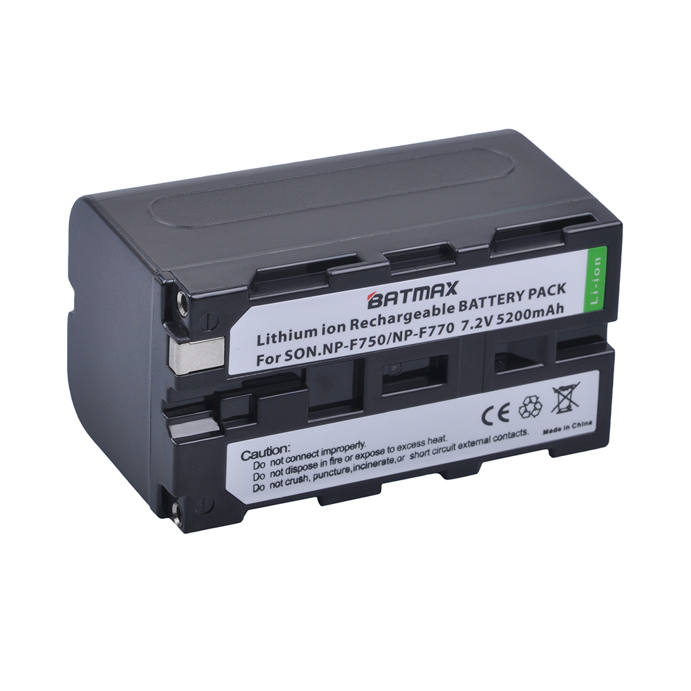 5200mAH 1Pc NP-F750 NPF750 NP F750 F730 F770 Battery for Sony NP F960 F970 NP-F770 F550 CCD-TRV58 TRV110K TRV26E HVR-Z1 V1J z1 аккумулятор для фотокамеры boka np f960 np f970 usb sony ccd trv715 ccd trv815 for ccd trv715 ccd trv815