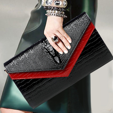 Alligator Genuine Leather Hand Bag Banquet Big Small Cover Crossbody Shoulder Envelope Chains Bags Wristlet Day Clutches