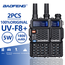 Get more info on the 2PCS Baofeng BF-F8+ UHF/VHF Walkie Talkie 10KM With PTT Earphone Portable Handheld Hotel CB Car Radio Station Ham HF Transceiver