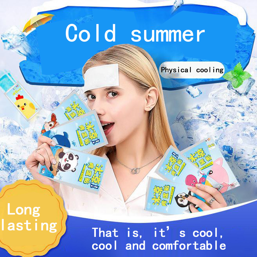Summer Cool Paste Ice Paste Fruity Gel Cooling Artifact Small Ice Pad
