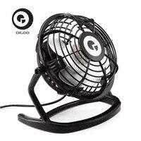 Digoo DF 001 Portable Mini USB Black Ultra Quiet Desk Cooling Fan Cooler For Laptop Notebook