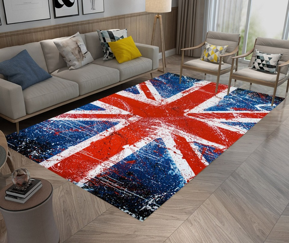Union Jack Rugs And Carpets Bedroom