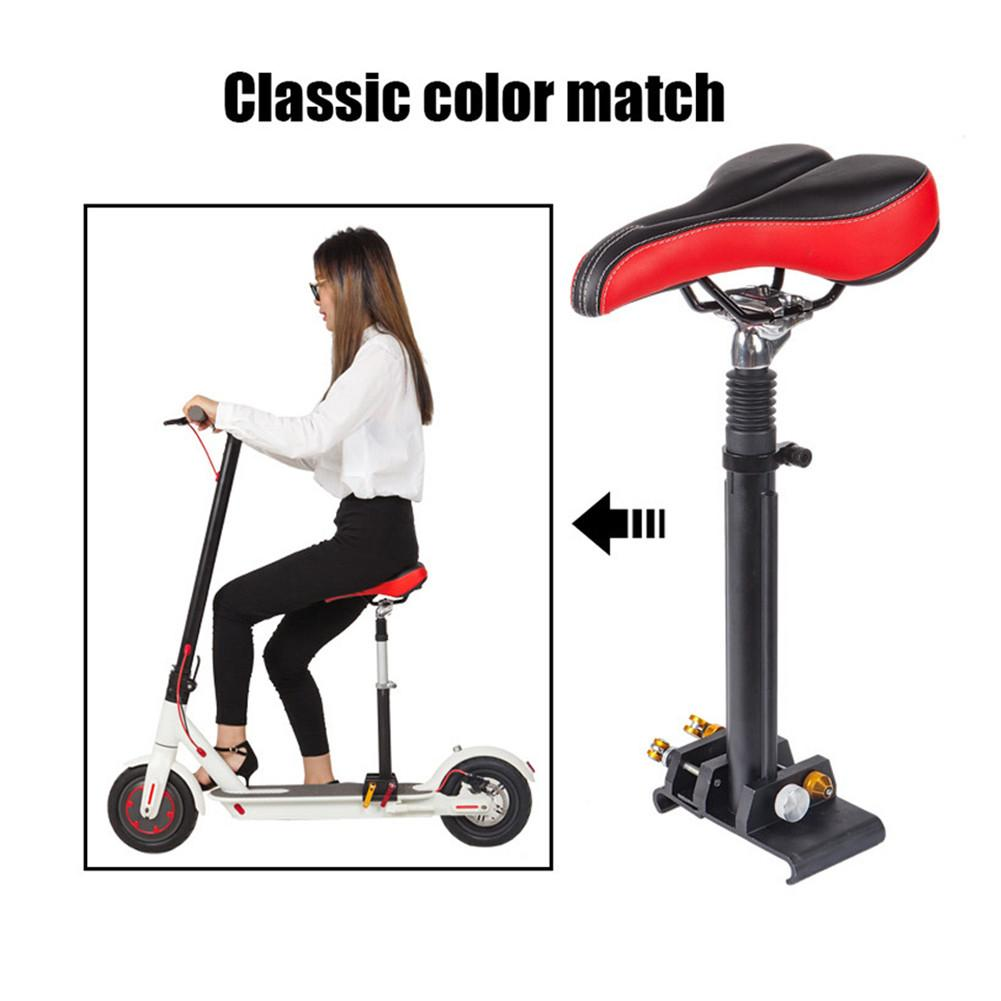 Image 5 - For Xiaomi M365 Electric Scooter Avoid Punching Alloy Soft Seat Electric Skateboard Saddle Chair Easy Install Scooter Parts-in Skate Board from Sports & Entertainment