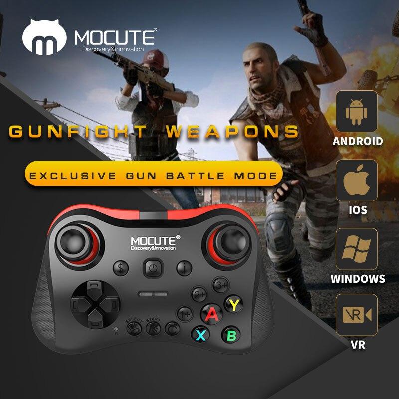 Mocute 056 Bluetooth Gamepad del telefono Mobile Joypad Joystick Senza Fili VR Controller per PUBG mobile iso android TV BOX PC