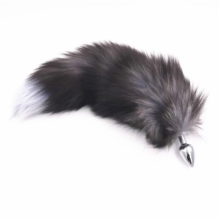 S Metal Feather Anal Toys Fox Tail Anal Plug Erotic Anus Toy Butt Plug Sex Toys For Woman Men Sexy Butt Plug Adult Accessories