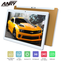 ANRY RS10 2.5D Arc Glass Android 7.0 10 Inch Tablet Pc 3G Phone Call 4GB RAM 32GB ROM Wifi GPS Bluetooth Quad Core Gift For Kid