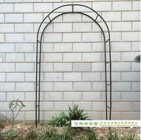 Free shipping,Pergola Iron Garden Arch Climbing Frame Loofah Rack Grape Rattan Rack Easy Assemblage 240*38*140cm
