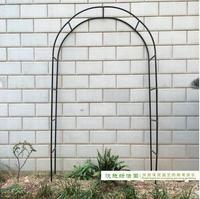 Free shipping,Pergola Iron Garden Arch Climbing Frame Loofah Rack Grape Rattan Rack Easy Assemblage 240*38*140cm