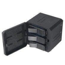 Аксессуары для камеры Go pro hero 6/5 батарея + 3-полосная батарея зарядное устройство для спортивной экшн-камеры Go pro hero Yi Lite Xiaomi Yi4k спортивной экшн-камеры SJCAM sj4000 спортивной экшн-камеры