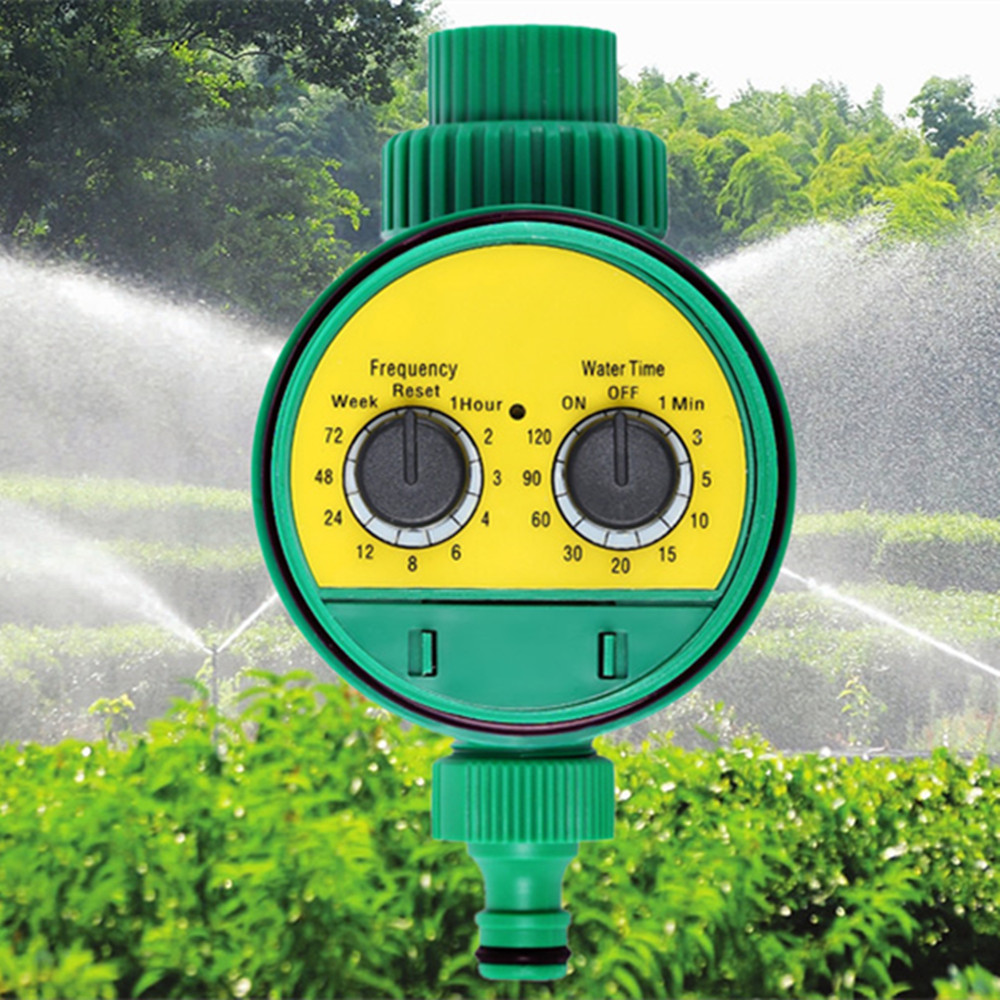 Hot Automatic Intelligent Electronic Water Timer Rubber Gasket Solenoid Valve Irrigation Sprinkler Controller Leak Proof XJ30 in Garden Water Timers from Home Garden