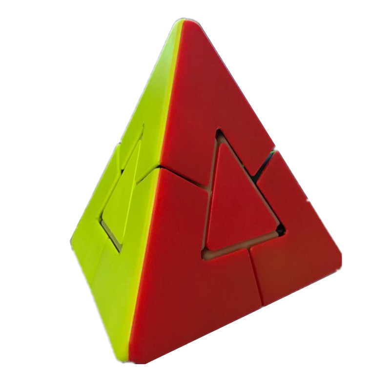 Lefang 2x2 Strange Shape Pyramid Magic Cube Brain Teaser Puzzle Cube Educational Toy For Children 8061 3x3x3 brain teaser magic iq cube multicolored 6 pcs