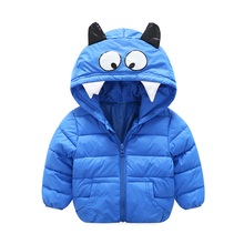 2017 autumn and winter new boys and girls trendy cotton short style warm down padded jacket children's wear