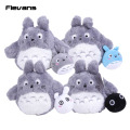 "Cute Cartoon Totoro Plush Toy Stuffed Animal Soft Doll Totoro with little totoro Girl's Kids Baby Toys Popular Toy 6"" 15cm"