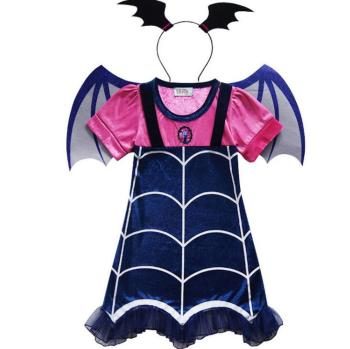 Vampirinas Cosplay Costumes Princess Party Anna Dress Christmas Clothing Summer Girls Dress Gift