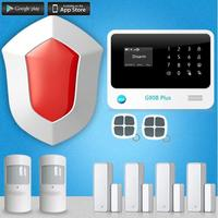 Most advanced 3G Network G90B Plus Wifi Alarm System Smart Home Alarm System