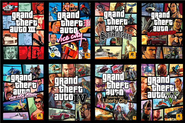 Custom Canvas Art Grand Theft Auto Poster GTA San Andreas Game Wallpaper Grand Theft Wal ...