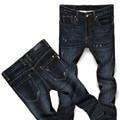 2017 de Moda Nuevos Pantalones Vaqueros de Los Hombres de Algodón Elástico Transpirable Pantalones de Mezclilla Casual Para Hombres Slim Fit Skinny Jeans Masculinos