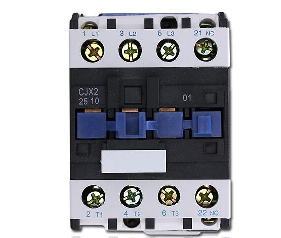 LC1D AC Contactor CJX2-2510 25A NO 3-Phase DIN Rail Mount Electric Power Contactor 24V 36V 110V 220V 380VLC1D AC Contactor CJX2-2510 25A NO 3-Phase DIN Rail Mount Electric Power Contactor 24V 36V 110V 220V 380V