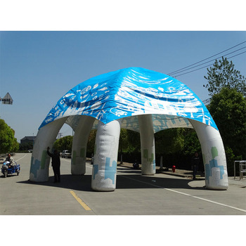 Большая палатка надувная газонная, надувная палатка Турпоход надувная палатка надувной рекламный шатер