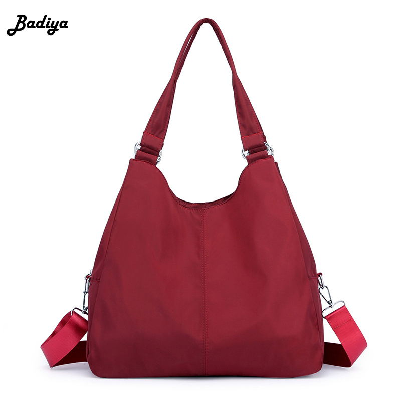 Elegant Female Oxford Handbags Women's Messenger Bag Large Capacity Travel Storage Multifunction Ladies Crossbody Bag Bolsa Sac