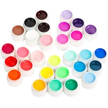 Woobela 30 pcs Semi Permanente UV Gel Nagellak Set Soak Off LED Nail Gel Lak Solid Pure Color Nail schilderij Gel