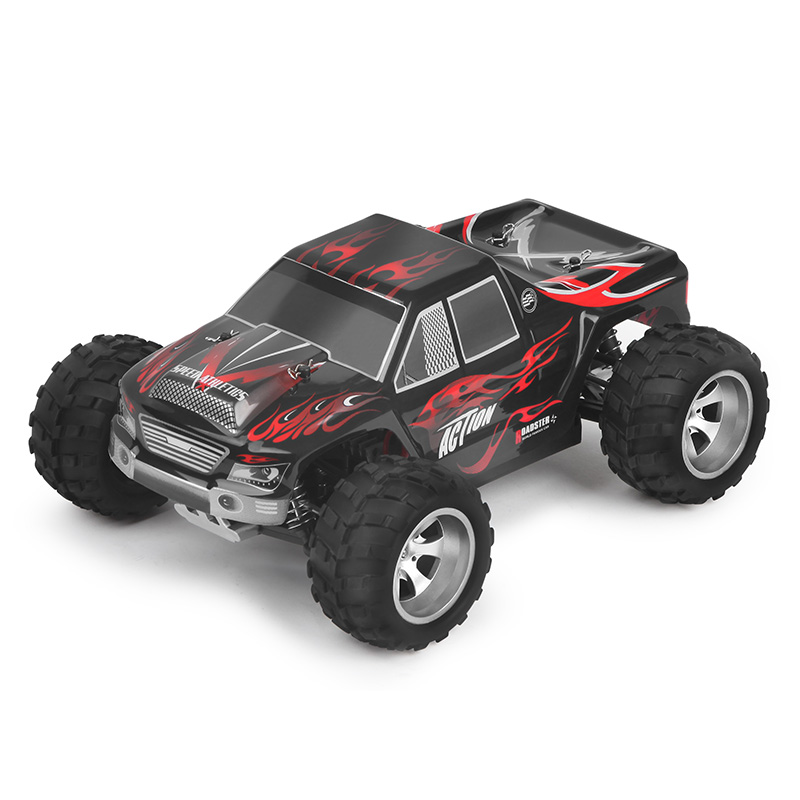 1:18 4WD 4CH 2.4GHz RC Car 50KM/h Big Foot High Speed Off Road RC Monster Remote Control Radio Racing Car Toys 1 18 4wd 4ch 2 4ghz rc car 50km h big foot high speed off road rc monster remote control radio racing car toys
