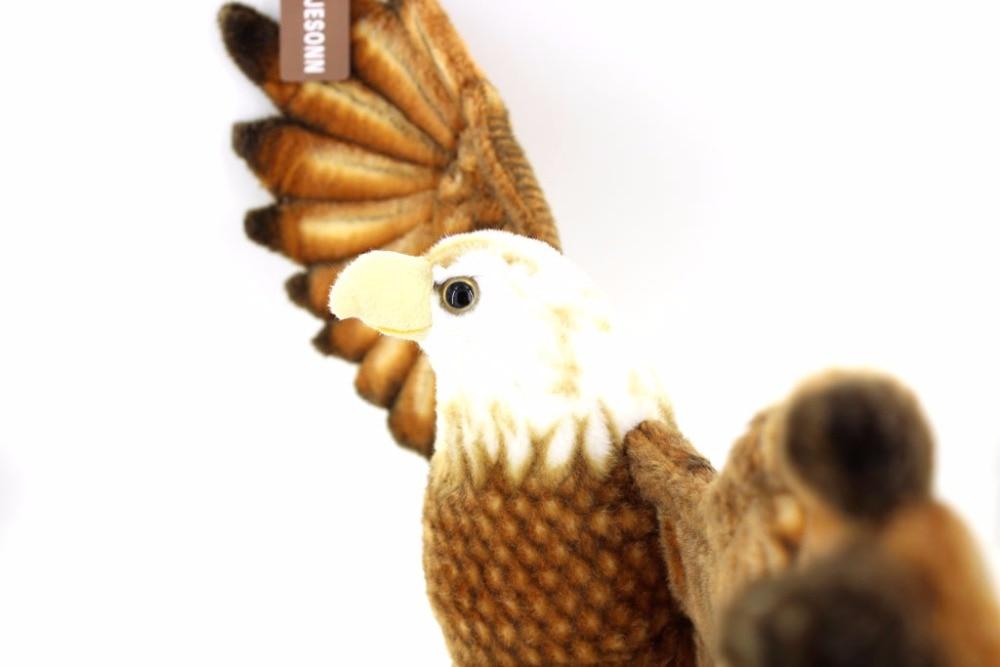 JESONN jouets en peluche animaux en peluche aigle pour cadeaux pour enfants, 94 CM - 5