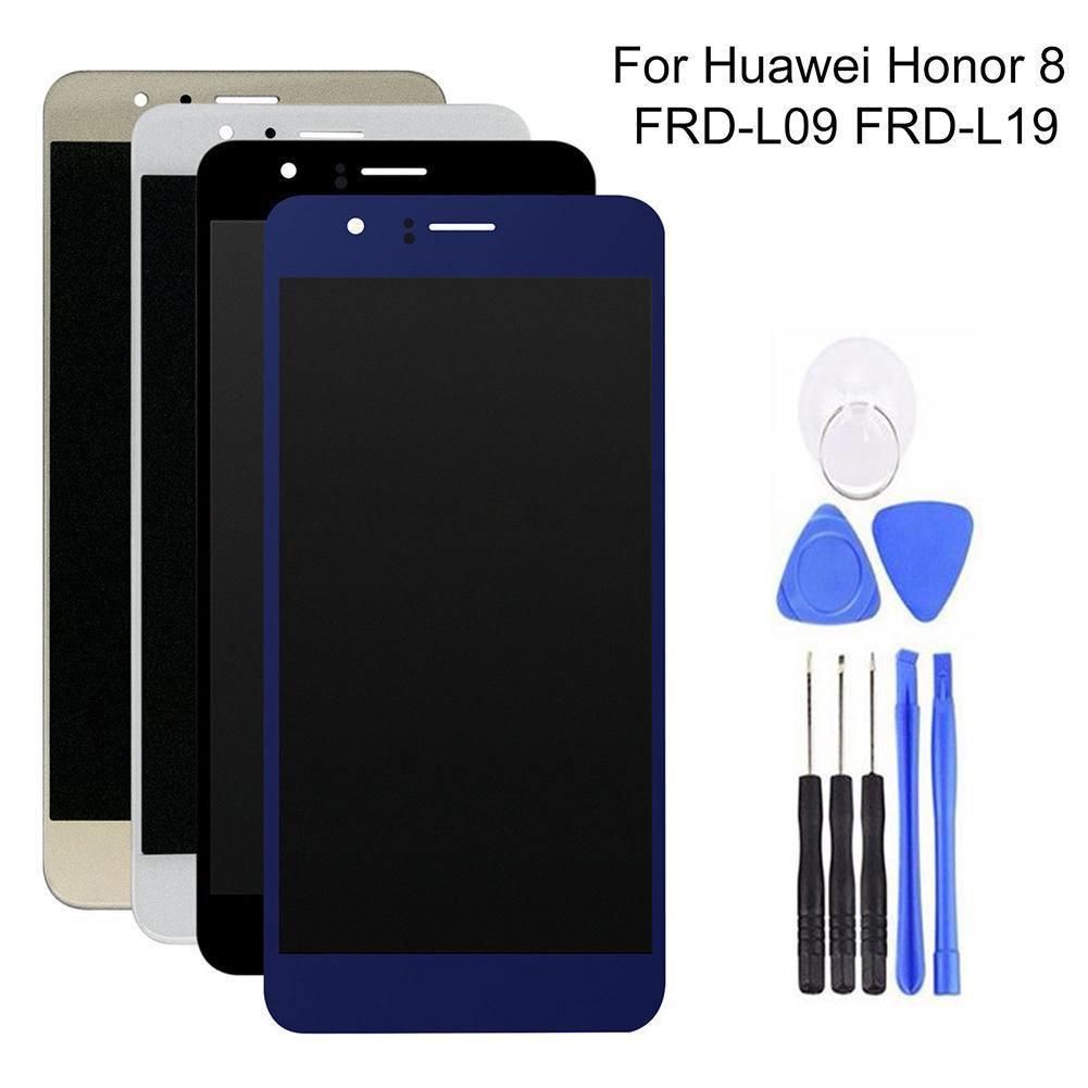 Numériseur d'écran tactile d'affichage à cristaux liquides de beaux téléphones intelligents chauds pour HUAWEI Honor 8 FRD-L09 L19