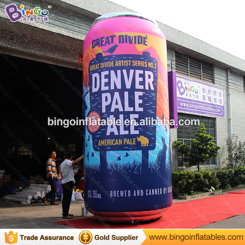 OEM factory custom made replica lighted inflatable drink can, inflatable bottle, inflatable beverage bottle can for advertising литой диск replica fr lx 98 8 5x20 5x150 d110 2 et54 gmf