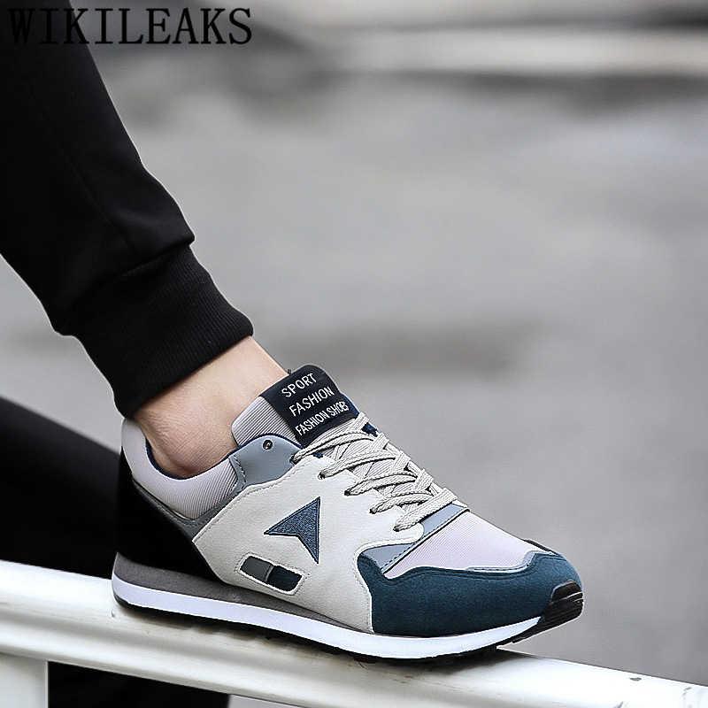 Mocasines zapatos de diseñador de hombre zapatillas para hombres zapatos casuales hombres zapatillas de deporte marca de lujo transpirable Zapatos negro zapatillas buty meskie