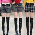 TX1699 Barato al por mayor 2017 nueva Otoño Invierno moda casual sexy shorts de las mujeres vendedoras Calientes prendas de vestir exteriores