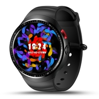 LEMFO LES1 Watch 1 39 Inch Support Camera AMOLED Circular Display Fashion 16GB ROM 3G GPS
