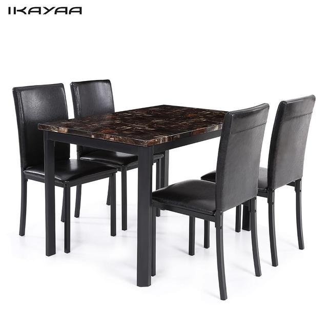 aliexpress : ikayaa us auf 5 stÜcke küche esszimmer tisch, Esstisch ideennn