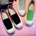 2016 Новые Зимние Толстым Дном Кожаные Ботинки Sprawing Вязание Носок Нубук Кожа Повседневная Обувь Новый Дизайн Zapatos Femme