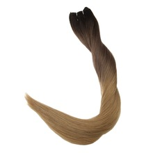 Full Shine Hair Weft Ombre Color #2 Fading to 6 to 27 Hair Weave Hair Bundles 100g Remy Hair Extensions Sew in Ribbon Human Hair ali beauty 7a unprocessed virgin hair ombre grey hair weave tib grey human hair bundle deals atki weft meches bresilienne lots