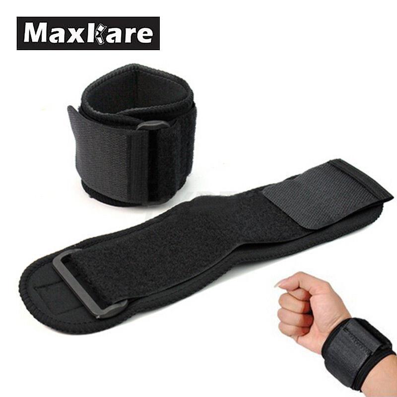 Maxkare New Universal Men Adjustable Sports Wristband Wrist Brace Wrap Bandage Support Gym Strap Hand Sport Tool